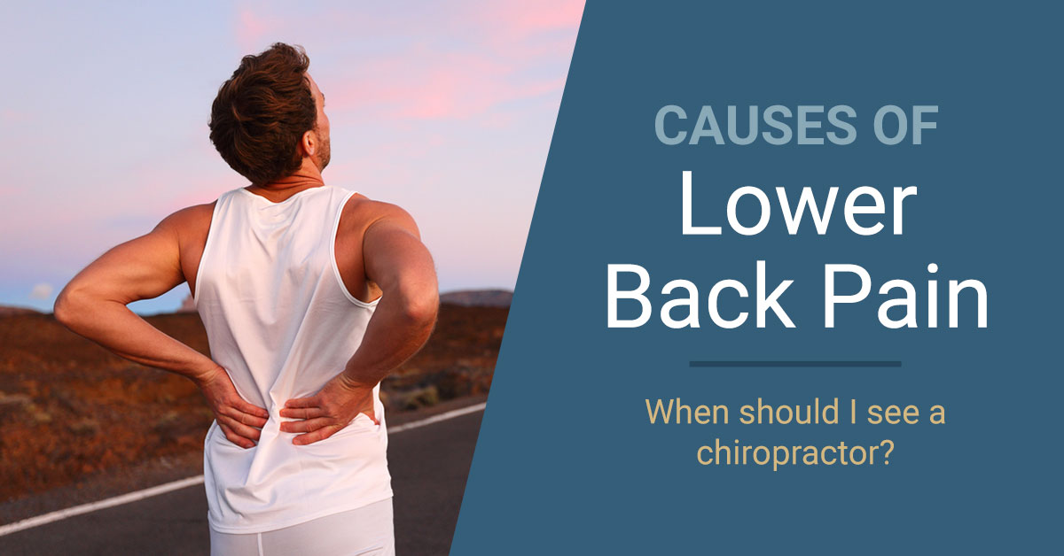 Causes of Lower Back Pain | Nimbus Clinics