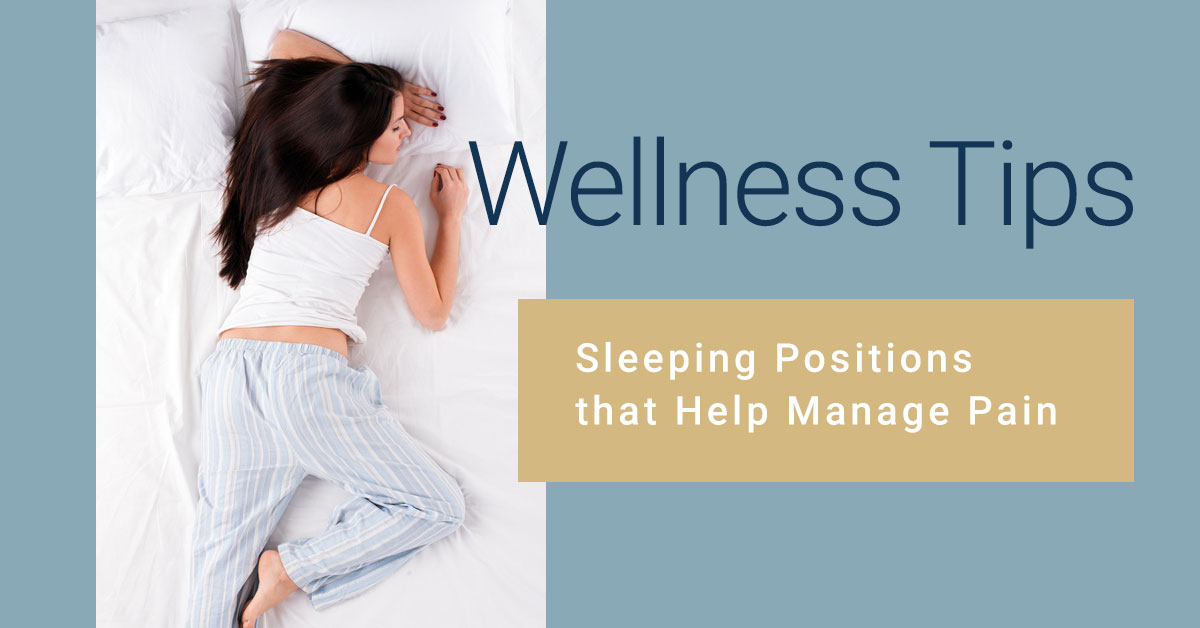 Wellness Tips Sleeping Positions that Help Manage Pain | Nimbus Clinics