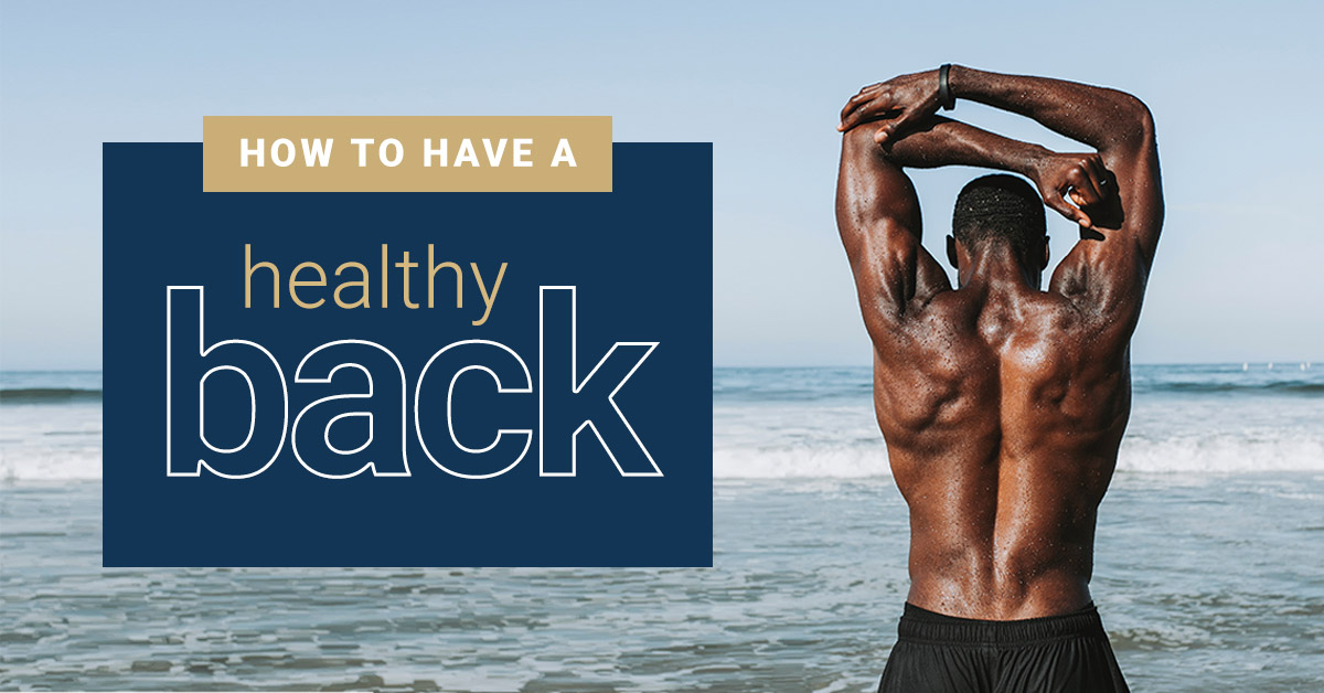 How to Have a Healthy Back | Nimbus Clinics