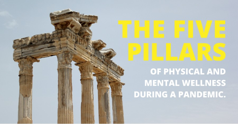 The 5 pillars of physical & mental wellness during a pandemic